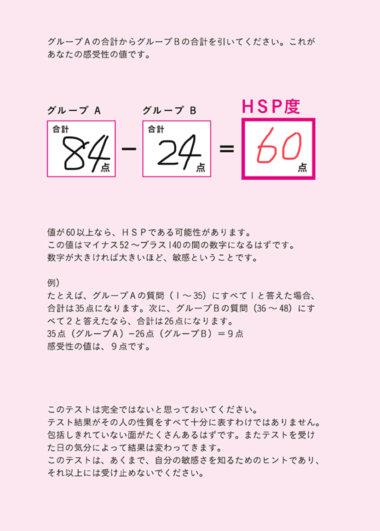 吉野のHSP度テスト(自分もHSPだった)